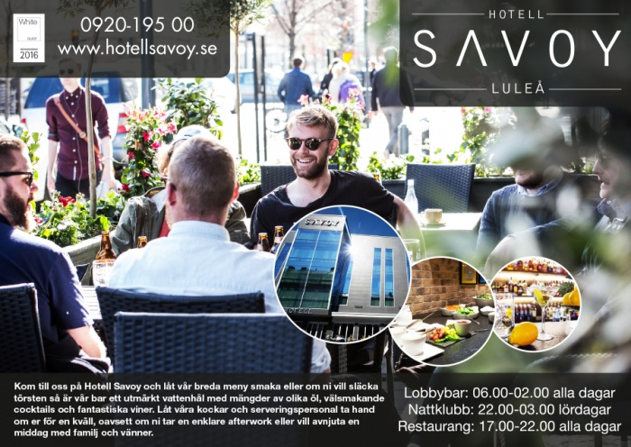 Annons Hotell Savoy